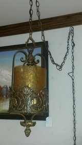 Vintage Gothic/ Spanish Revival Swag Lamp in Fort Leonard Wood, Missouri
