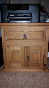 Rustic Pine Nightstand or End Table. in Camp Lejeune, North Carolina