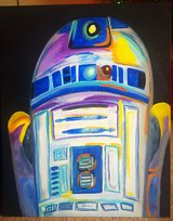 R2D2 painting in Camp Pendleton, California