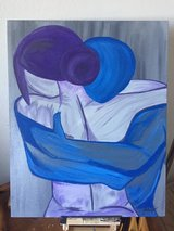 Warm Embrace Painting in Camp Pendleton, California