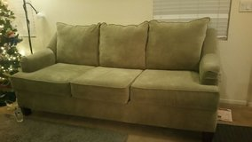 Olive Green Couch in Nellis AFB, Nevada