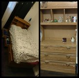 *FREE* 3 Drawer Captain Bed with matching 2 piece dresser in Travis AFB, California
