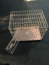 Pink Medium Size Dog Cage in Okinawa, Japan