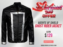 Buy Agent of Shield Ghost Rider Leather Jacket for Valentines in Elgin, Illinois
