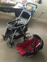 Baby stroller/car seat combos in Lakenheath, UK