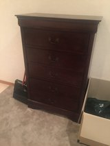ALMOST NEW ASHLEY BRAND DRESSER 5 DRAWERS WOOD MINT CONDITION AND BARELY USED PIRCHASED IN 2016 ... in Okinawa, Japan