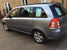 Vauxhall Zafira 1.6 petrol in Lakenheath, UK