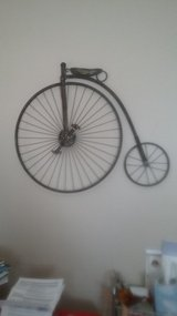 Bicycle Wall Hanging in Chicago, Illinois