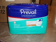 **Prevail Adult Diapers (Sz: M)---(Case of 4, 20pk)** in Conroe, Texas