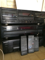 Kenwood Stereo with 4 CD deck, double cassette, and AM/FM radio in Alamogordo, New Mexico