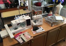 Husqvarna Viking Designer Ruby Royale Sewing/Quilting/Embroidery Machine plus more in Macon, Georgia