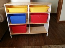 Ikea toy organizer in Aurora, Illinois