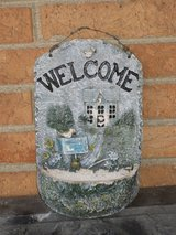 "welcome plaque 10.5x6.5"" in Glendale Heights, Illinois"