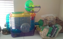 Hamster Cage & Accessories in Kingwood, Texas