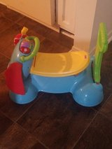Bouncer, walker, baby toy Fisher PRICE 3-in-1 stride right elephant in Dothan, Alabama