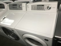 LG FRONTLOAD WASHER DRYER SET CLEAN WORKS GREAT WARRANTY/DELIVERY/INST in Quantico, Virginia