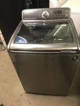 SAMSUNG TOP LOAD WASHER W/SINK 4.8 CU.FT PLATINUM LIKE NEW WORKS GREA in Fort Belvoir, Virginia