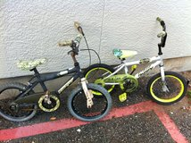 Huffy Alpha Bravo & Vulcan Bikes in Camp Pendleton, California