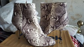 Designer boots in Lakenheath, UK