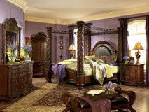 NEW! LUXURIOUS M. INTERNATIONAL UPSCALE KING BED SET ! + MORE! in Camp Pendleton, California