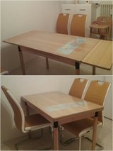 sturdy adjustable (ONLY) dining table in Ramstein, Germany