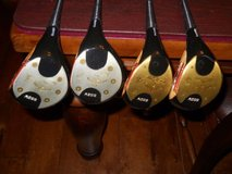 VINTAGE RARE MACGREGOR TOMMY ARMOUR SS2W 1 2 3 4 PERSIMMON WOODS SET GOLF CLUBS in Columbus, Georgia