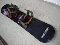 Snowboard Iceland 146 cm good condition with bindings in Baumholder, GE