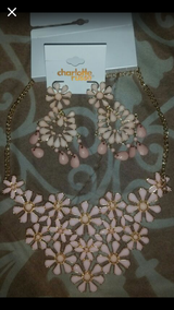 Charlotte Russe matching necklace and earrings in Oceanside, California