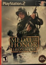 Playstation 2 Medal of Honor Front Line in Kingwood, Texas