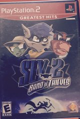 Playstation 2 Greatest Hits Sly 2 Band of Thieves in Kingwood, Texas