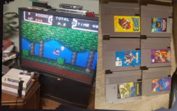 Great working nintendo NES and 7 classic games in Elgin, Illinois