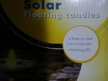 2 x solar lights or floating candles in Ramstein, Germany