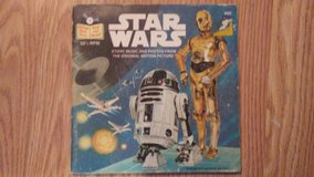 Star Wars Story Music and Photos Booklet/ 45 Record in Alamogordo, New Mexico