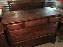 Mahogany bedroom set (twin) in Camp Lejeune, North Carolina