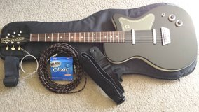 Electric Guitar w/ extras, Danelectro U2 model in Fort Irwin, California