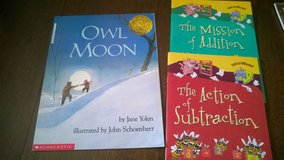 3 scholastic books in Glendale Heights, Illinois