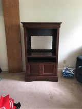 Solid Wood TV Stand - Cherry Finish in Fairfield, California