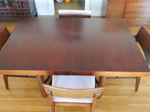 Retro Dinning Room Table with 5 chairs in Camp Lejeune, North Carolina
