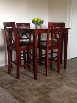 Table and chairs (Bar height) in Travis AFB, California
