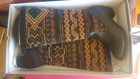 Size 9 boots new in box in Yucca Valley, California
