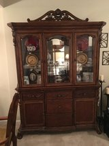 Wood China cabinet in Charleston, South Carolina