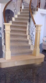 Custom Cabinets and stairs in Conroe, Texas