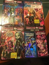 Monster High DVD Lot in Camp Lejeune, North Carolina