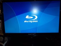 SHARP BLUE-RAY DVD & 24 MONITOR BOTH LIKE NEW CONDITION in Elizabethtown, Kentucky