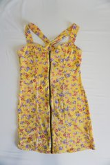 Yellow Summer Dress Size Small in Ramstein, Germany