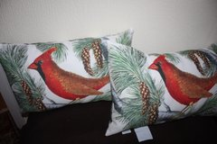 Pottery Barn Red Cardinal Pillows (new) in Ramstein, Germany