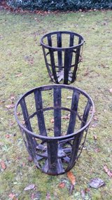 Extra large iron baskets in Ramstein, Germany