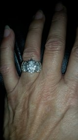 Wedding ring with baggetts in Conroe, Texas