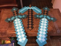 Minecraft Diamond Swords and Pick Axe in Ramstein, Germany