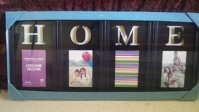 """New in Box! Set of 4 Frames """"HOME"""" in Bolingbrook, Illinois"""